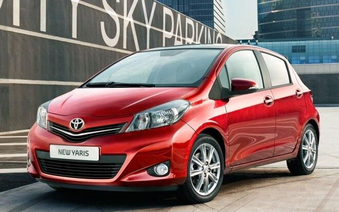 2012 Toyota Yaris Front Three Quarter1 660x413