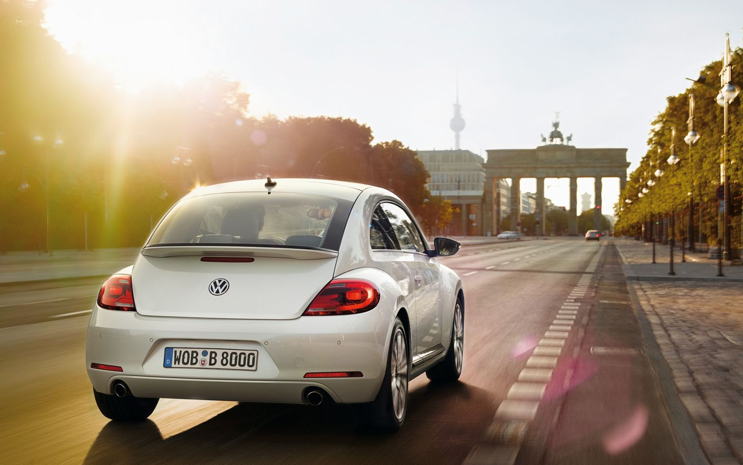2012 Volkswagen Beetle Turbo Rear View1