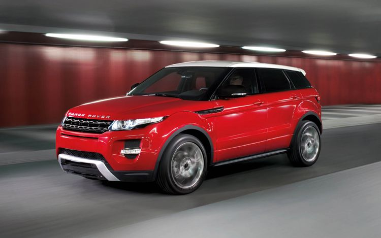 2012 Land Rover Range Rover Evoque Five Door Dynamic Side1