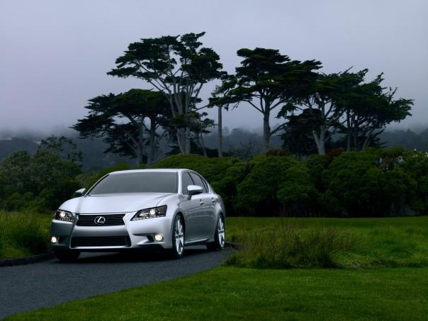 2013 Lexus GS 350 Front Side1 604x453