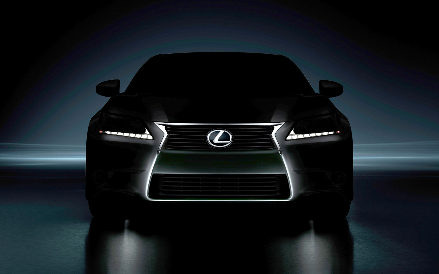 2013 Lexus GS Front Teaser Lightened1