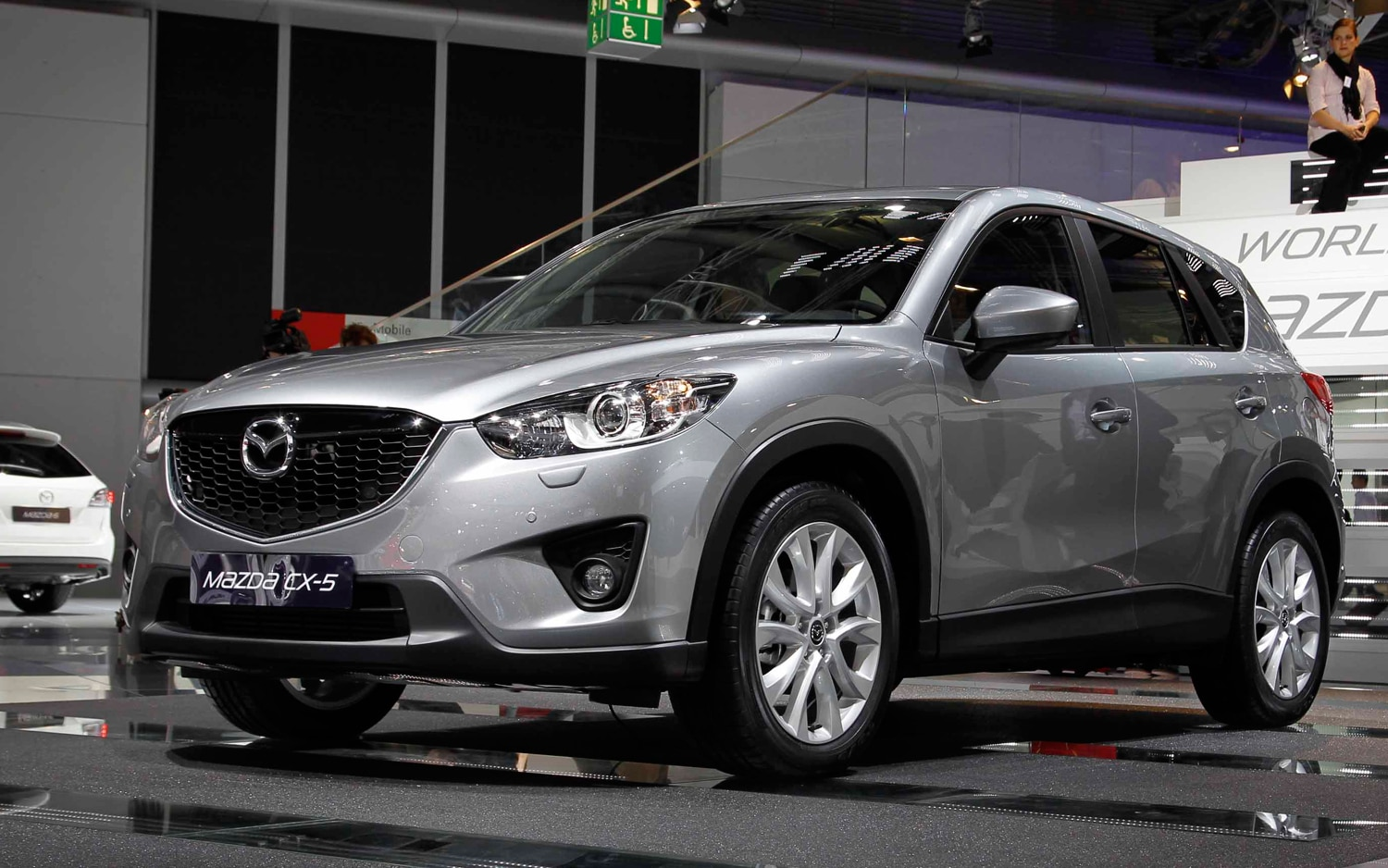 2013 Mazda CX 5 Prototype Front Three Quarters1