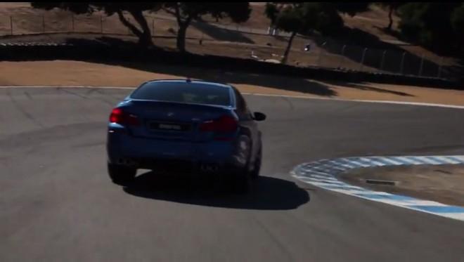 BMW M5 Laguna Seca Video 21 660x373