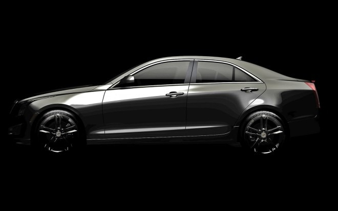 Cadillac ATS Teaser Lightened Profile1 660x413