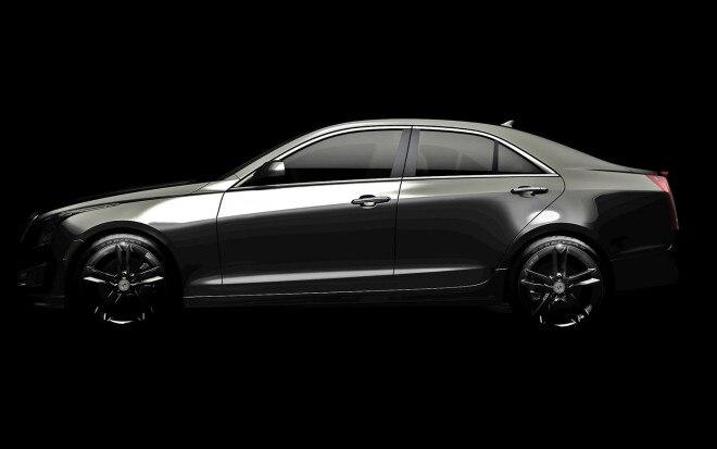 Cadillac ATS Teaser Lightened Profile21 660x413