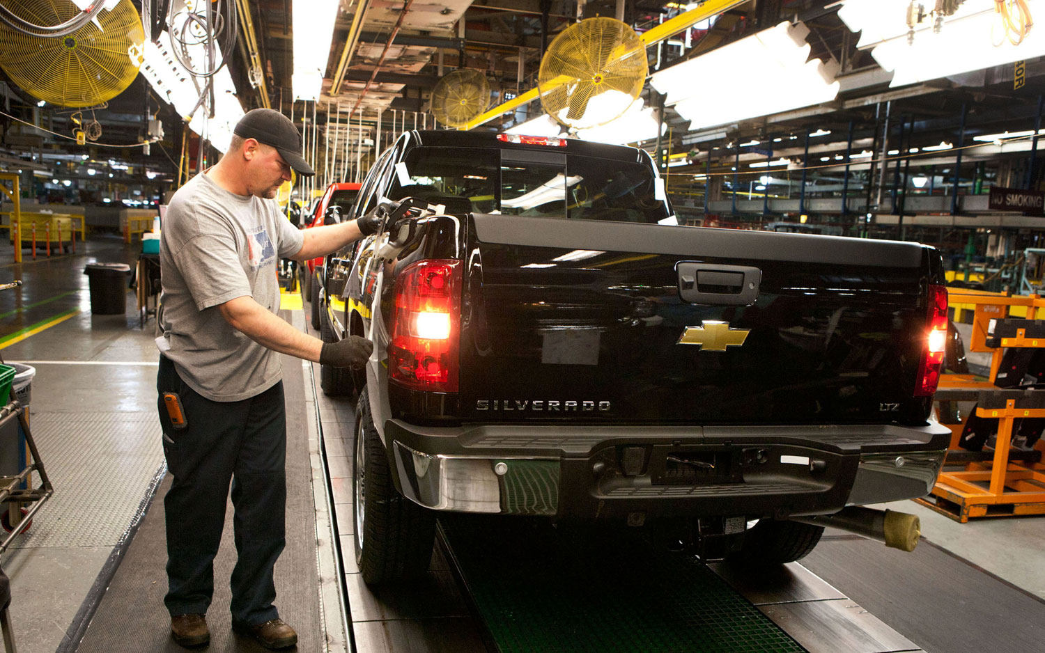 Chevy Silverado At Gm Flint Plant1
