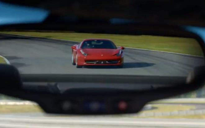 Ferrari 458 Italia In Rear View Mirror1 660x413