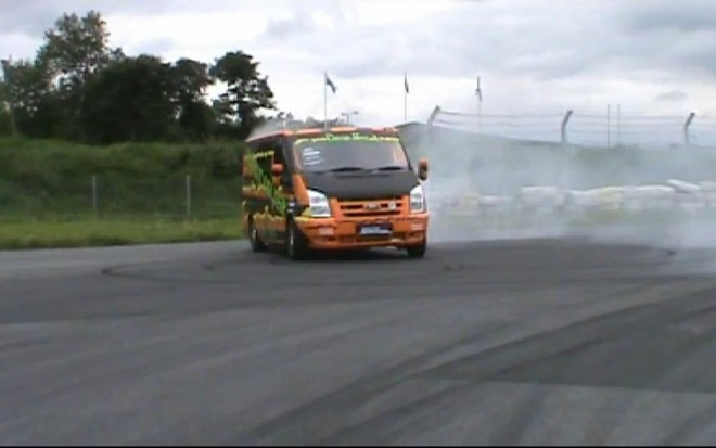 Ford Transit Drift Bus Front Shot 660x413