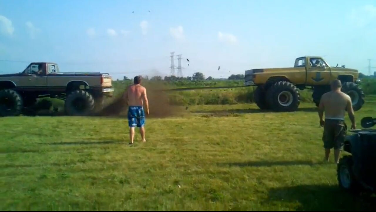 Ford Vs Chey Tug Of War Video 31