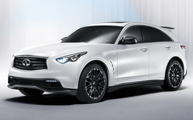 Infiniti FX Performance Concept Front Three Quarter1 660x413