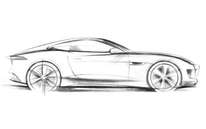 Jaguar C X16 Concept Sketch1 660x413
