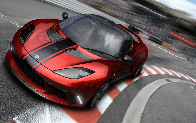 Lotus Evora GTE Road Car Concept Front Three Quarter1