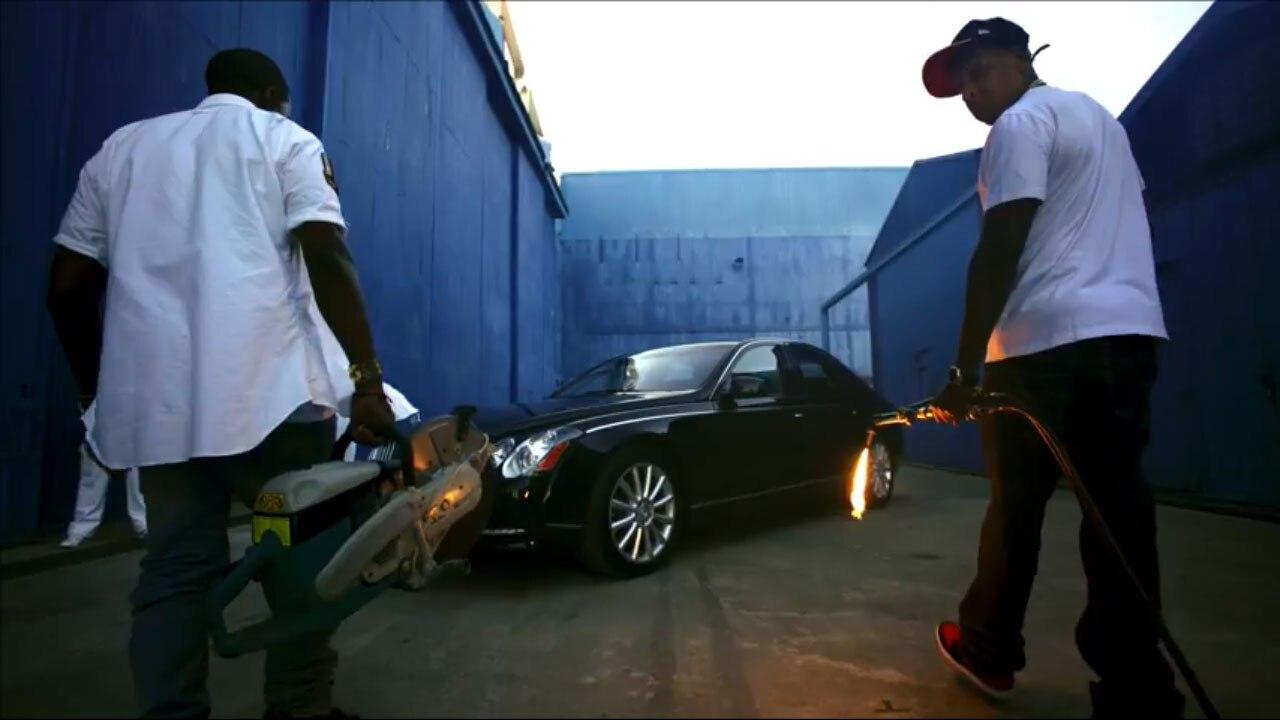 Maybach Jay Z Kane Otis Video 11