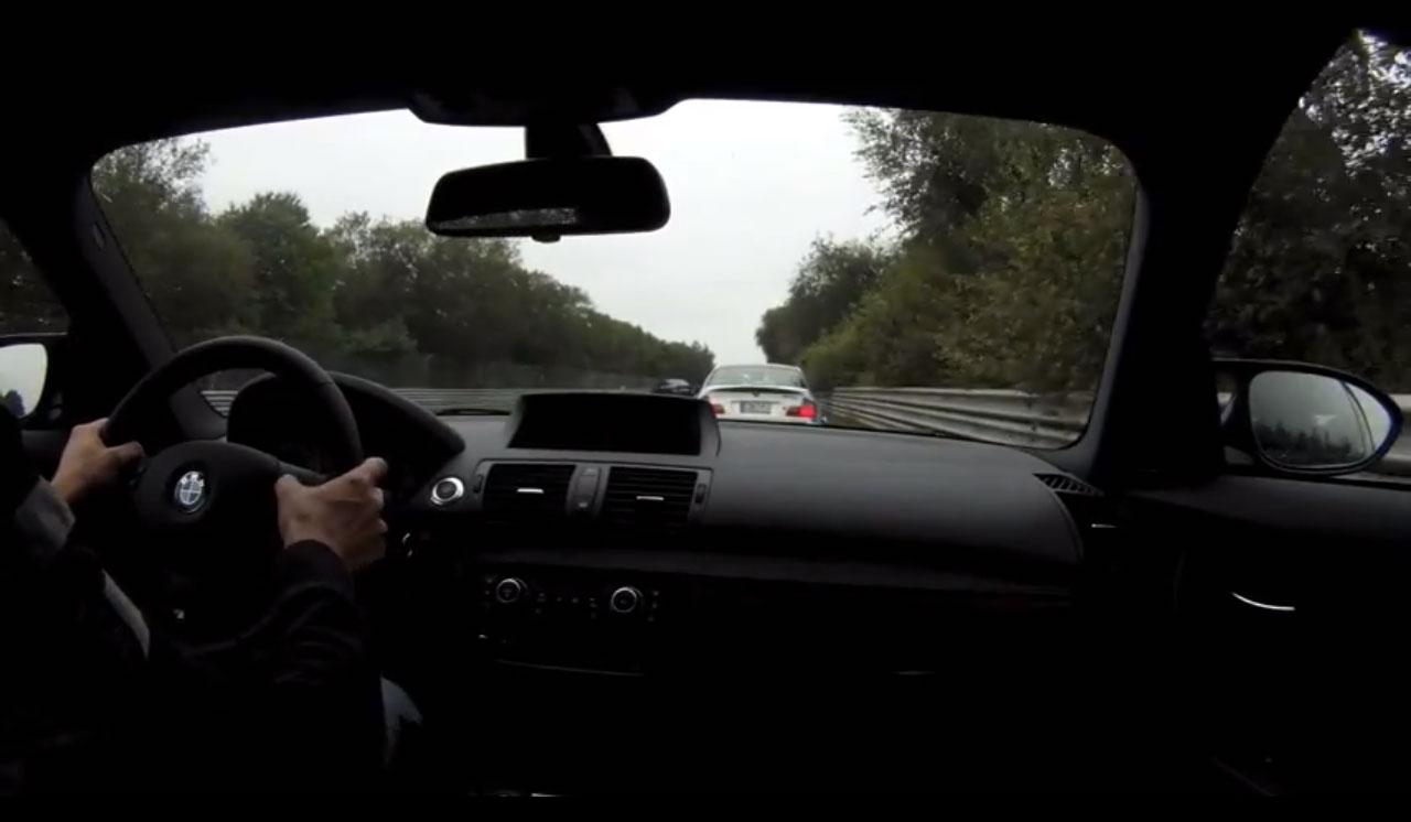 Nurburgring Lap BMW 1M Coupe Vs BMW M3 CSL 11