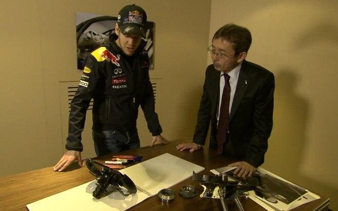 Sebastian Vettel And Shiro Nakamura1 660x413