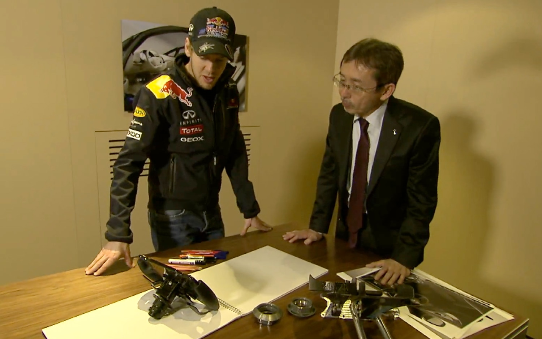 Sebastian Vettel And Shiro Nakamura1