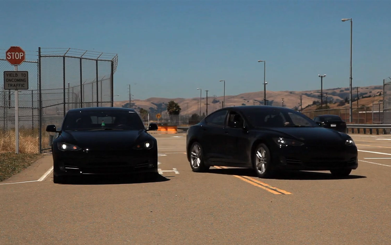Tesla Model S Alpha Test Drive 31