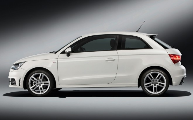 Audi A1 Left Side View 660x413