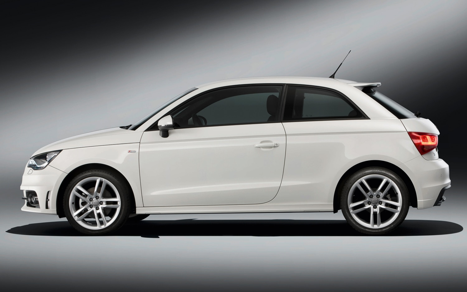 Audi A1 Left Side View