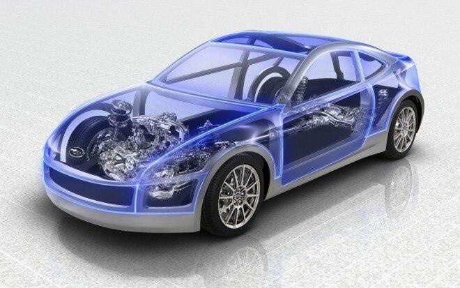 Subaru Rear Drive Sports Coupe Architecture Front Three Quarter1 660x413