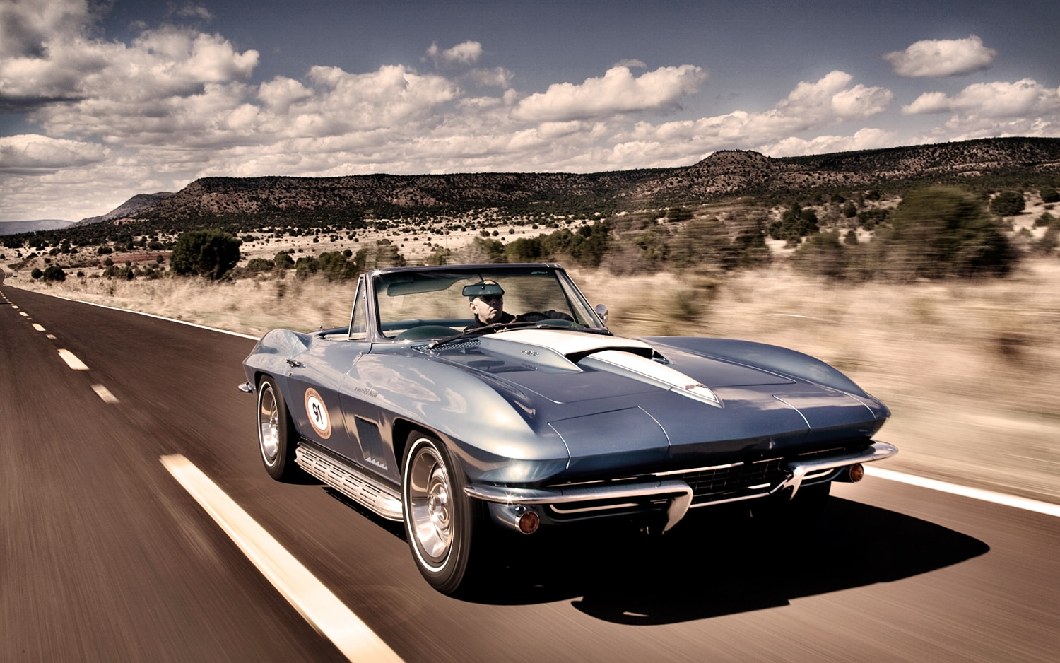 1967 Chevrolet Corvette Front Right View