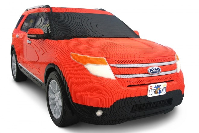 2011 Ford Explorer Legos Front Three Quarter1 660x440