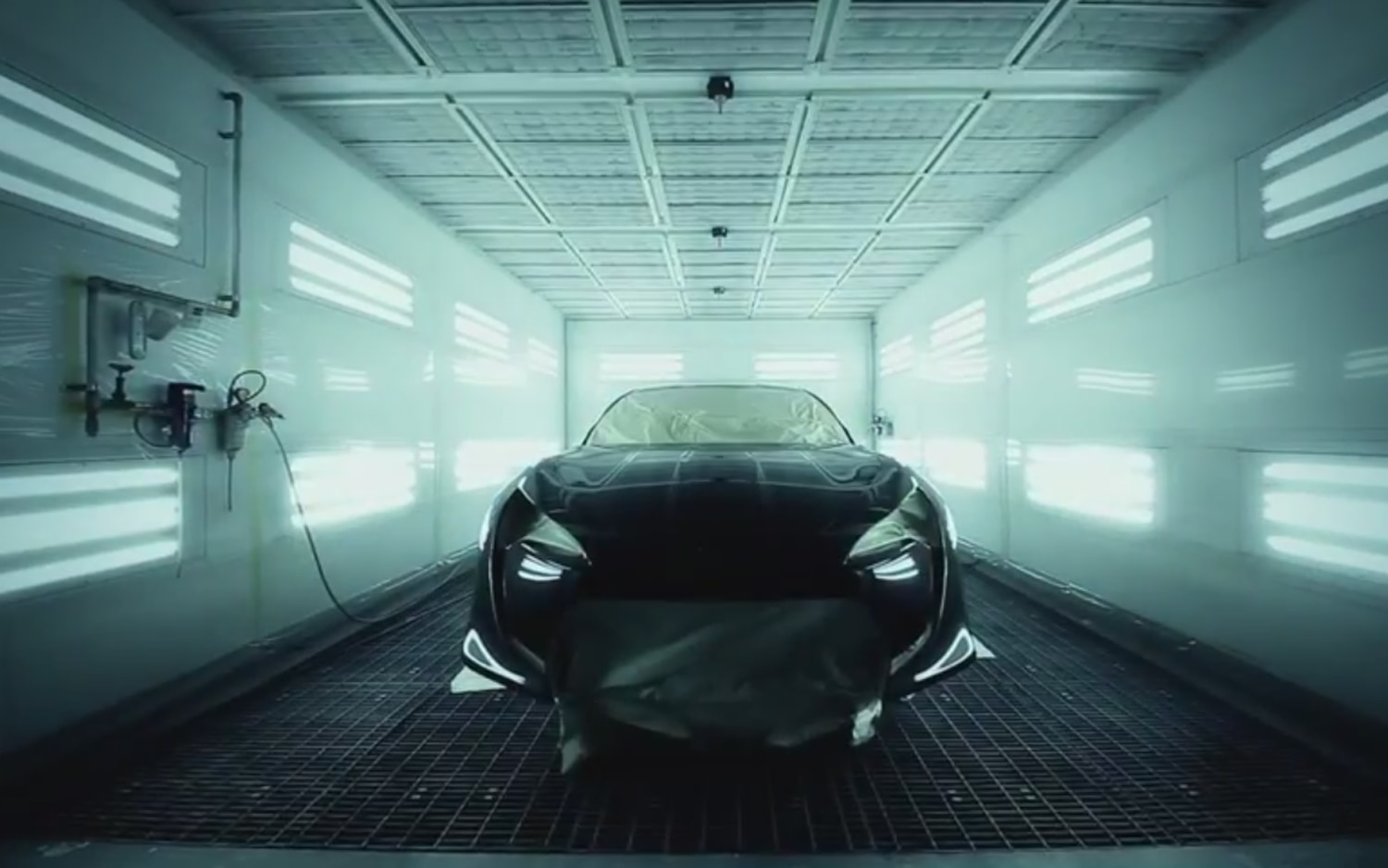 2011 Toyota FT 86 II Concept Paint Booth1