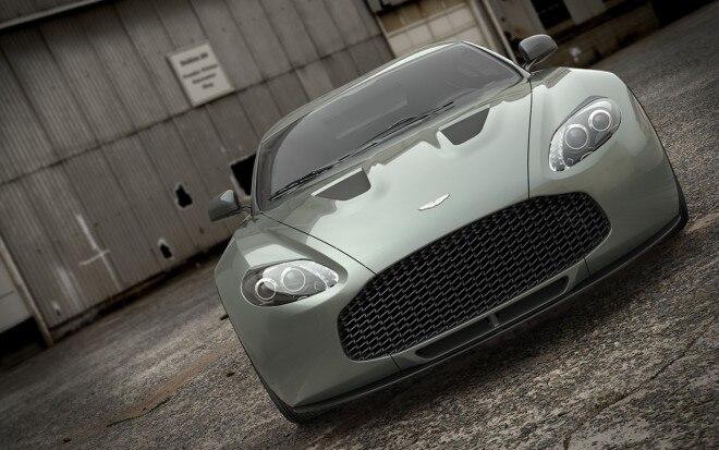 2012 Aston Martin V12 Zagato Front View1 660x413