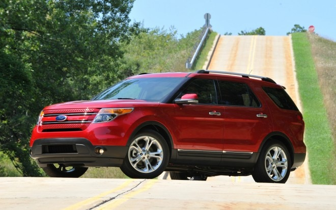 2012 Ford Explorer Front Three Quarter1 660x413