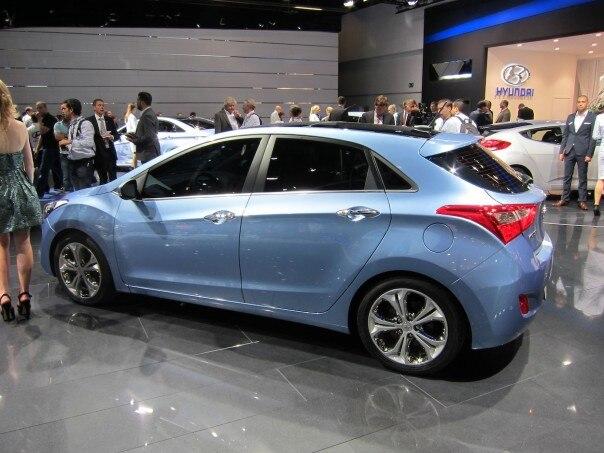 2012 Hyundai I30 Profile1 604x453