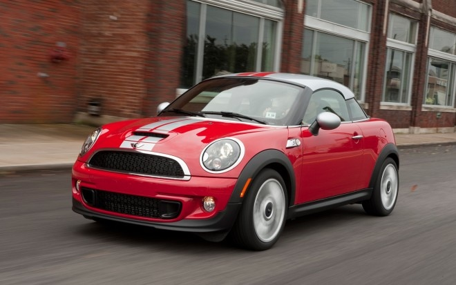 2012 MINI Cooper S Coupe Front Left Side View 660x413