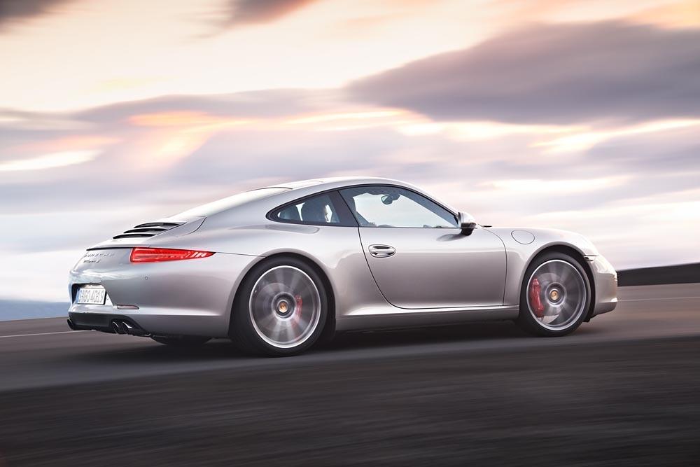 2012 Porsche 911 Carrera S Rear Three Quarters