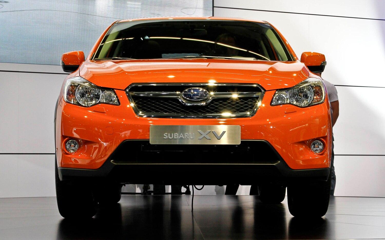 2012 Subaru XV Front Grill1