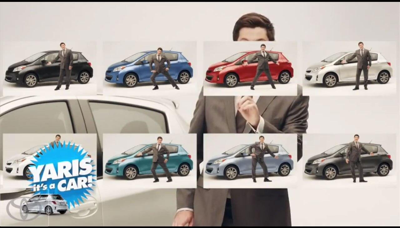 2012 Toyota Yaris Its A Car 11