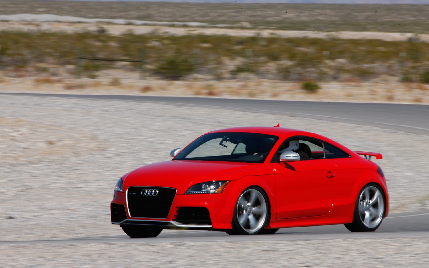 2012 Audi TT RS Red Front Left Side View1