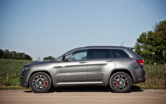 2012 Jeep Grand Cherokee SRT8 Left Side View1 660x413