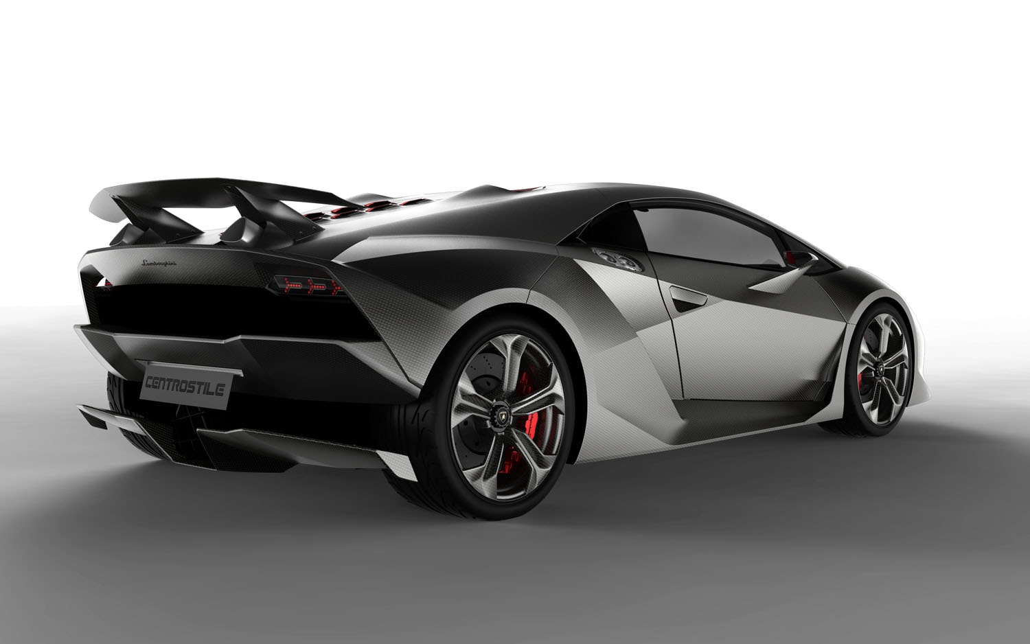 2013 Lamborghini Sesto Elemento Rear Three Quarter