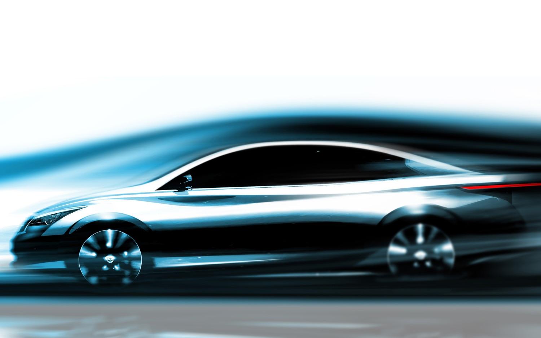 2014 Infiniti Electric Car Rendering