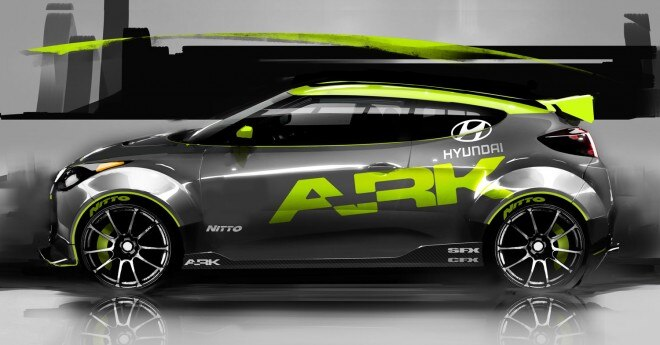 ARK Hyundai Veloster 2011 SEMA 21 660x345