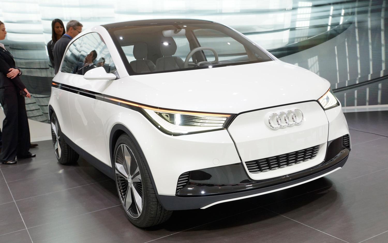 Audi A2 Concept Front End1
