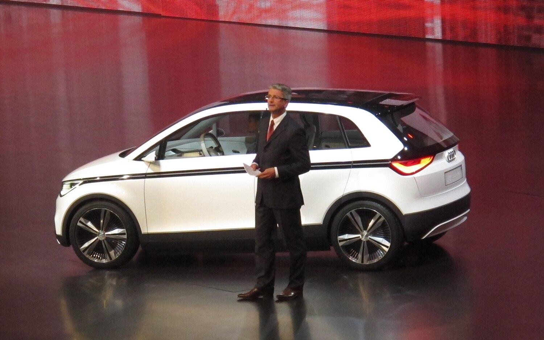 Audi A2 Concept Reveal