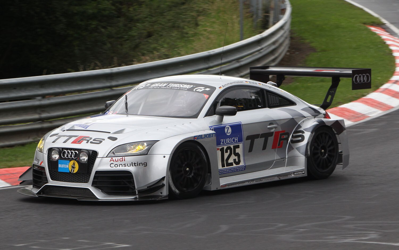 Audi TTRS Racecar Front Three Quarter1
