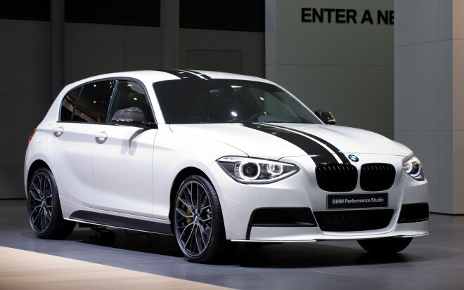 BMW 1 Series Performance Accessories Concept Front Three Quarter1 660x413