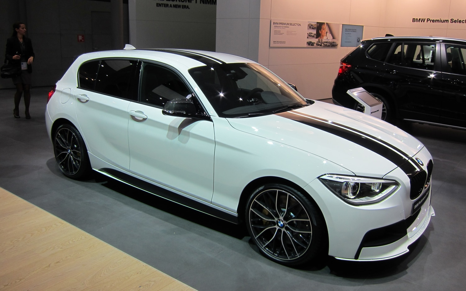 BMW 1 Series Performance Accessories Concept Front Three Quarter12