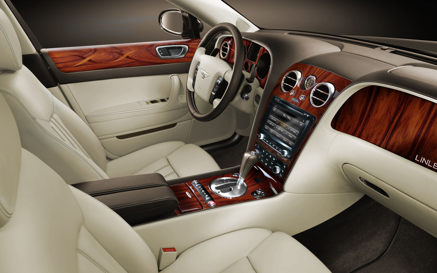 Bentley Continental Flying Spur Linley Edition Interior Front1