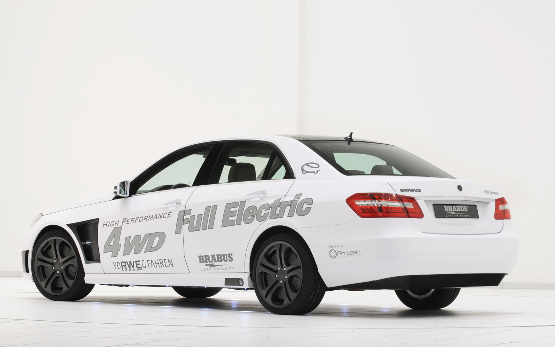 Brabus High Performance 4WD Full Electric Rear Three Quarter1