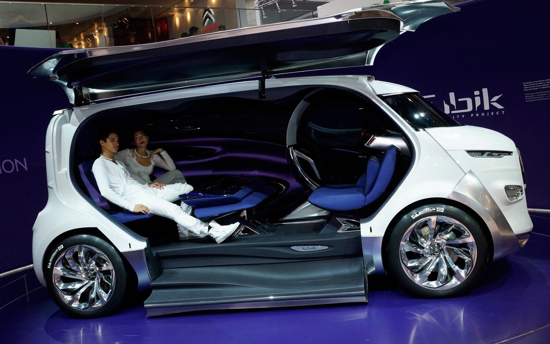 Citroen Tubik Van Concept Side View11
