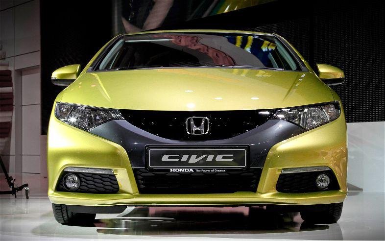 European Honda Civic Hatchback Front Grill1