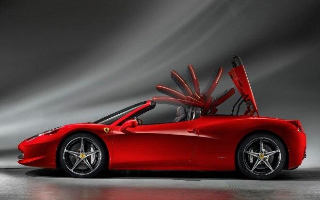 Ferrari 458 Spider Profile1 660x413