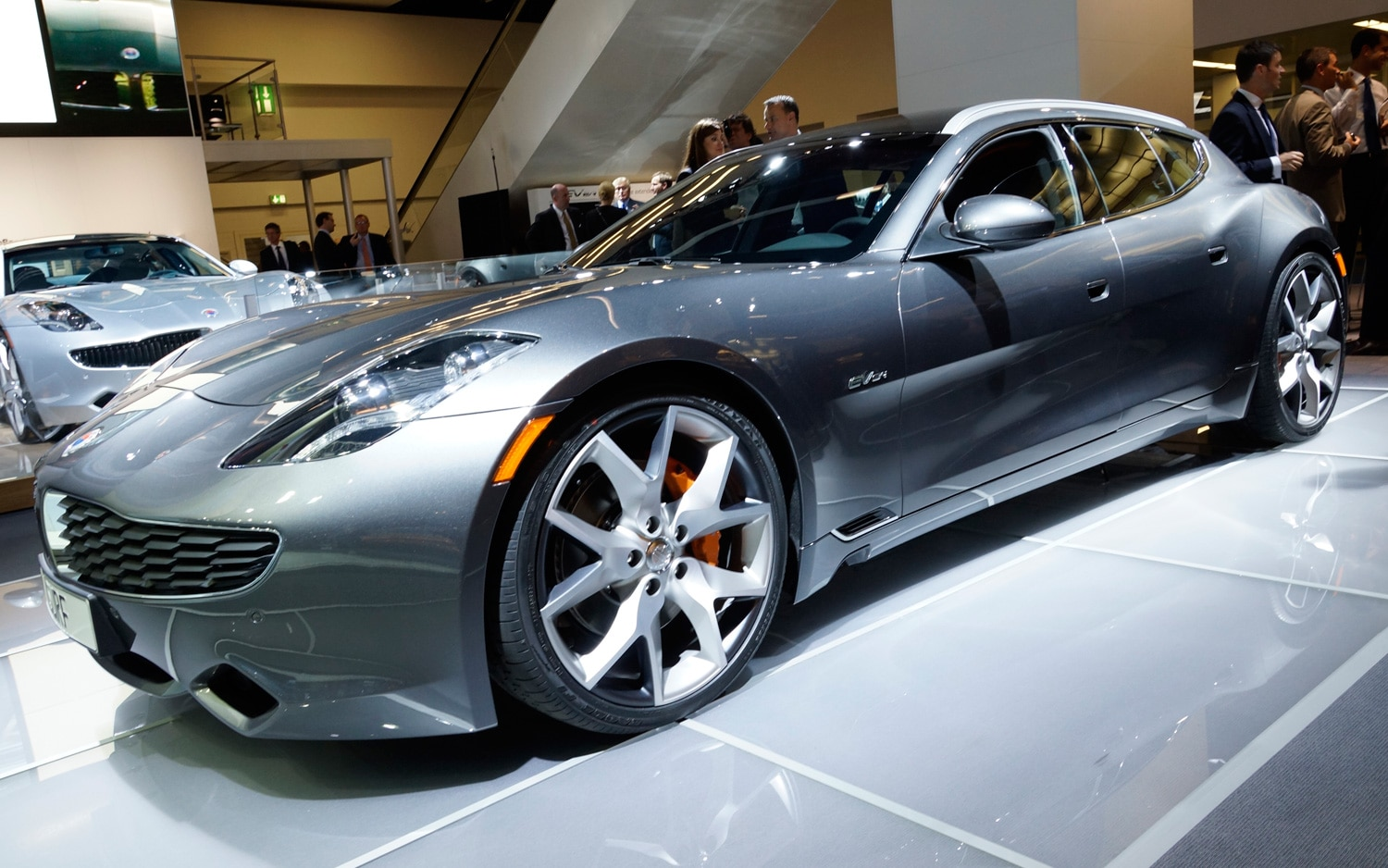 Fisker Karma Surf Front View1
